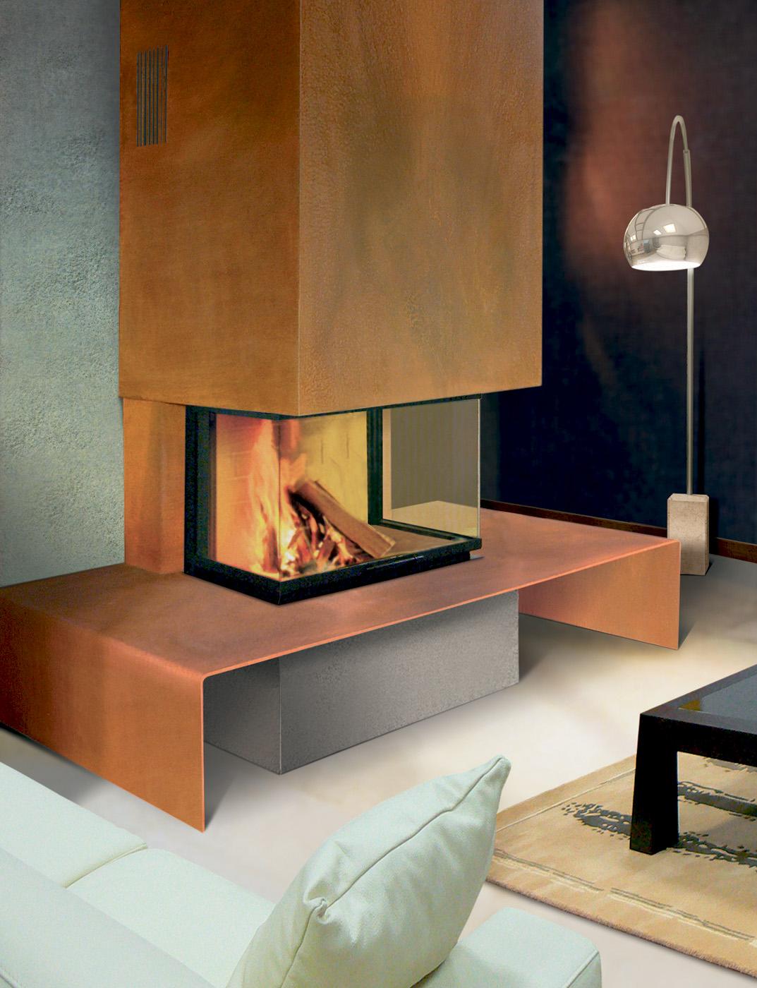 Chemin e en savoie is re et haute savoie atre et loisirs votre expert - Cheminee metal design ...
