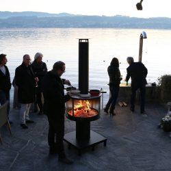 barbecue plancha cheminée extérieur Ruegg Atre et Loisirs Grenoble Chambéry Savoie Isère 38 73