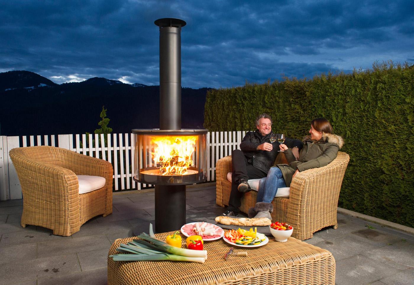 chemin es d 39 ext rieur barbecue four pain ils sont chez atre et loisirs. Black Bedroom Furniture Sets. Home Design Ideas