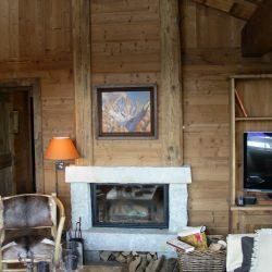 cheminée chalet bois atre et loisirs