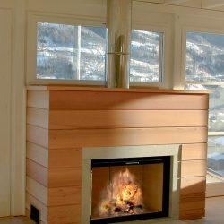 cheminée chalet bois foyer ruegg atre et loisirs