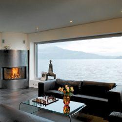 cheminée loft metal foyer galbé ruegg atre et loisirs