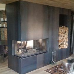 cheminée metalique tole brute atre et loisirs