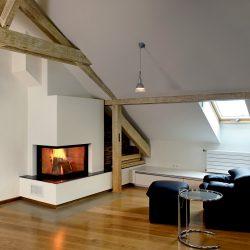 cheminée moderne blanche foyer ruegg atre et loisirs