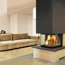 cheminée moderne epi pierre de dordogne modèle myoko atre et loisirs