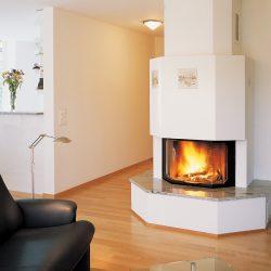 cheminée moderne prismatique foyer ruegg prisma atre et loisirs