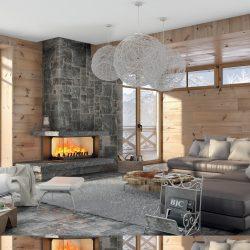 cheminée foyer atra 16-9 800 atre et loisirs Grenoble Montmélian