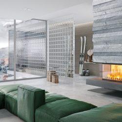 cheminée foyer atra atraflam 750 3 vitres atre et loisirs Chambery Montémlian Albertville Grenoble