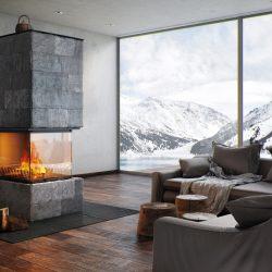 cheminée foyer atra atraflam 900 epi atre et loisirs Albertville Grenoble Annecy Chambéry