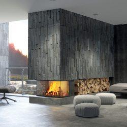 cheminée foyer atraflam 16-9 800 3 vitres atre et loisirs sur mesure Grenoble Echirolles St Martin d'Hères