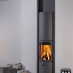 Foyer Stuv 30 in Atre et Loisirs cheminée moderne Albertville Chambéry La Ravoire Aix les Bains
