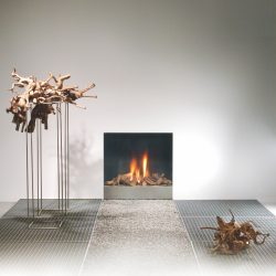 Foyer à gaz Spectra frameless faber Atre et Loisirs installateur grenoble chambéry albertville