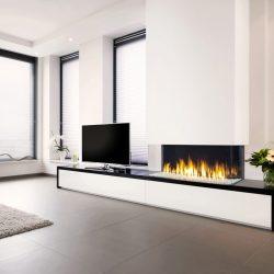 Foyer insert au gaz Triple prémium xxl - Faber Atre et Loisirs cheminées Savoie Isère