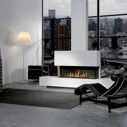 cheminée foyer insert à gaz triple XL - Faber Atre et Loisirs Echirolles Voreppe St Egreve Grenoble