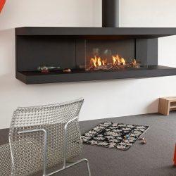 cheminée insert à gaz C-fire 200 Tulp Stuv Atre et Loisirs installateur Savoie installateur Isère installateur haute-savoie