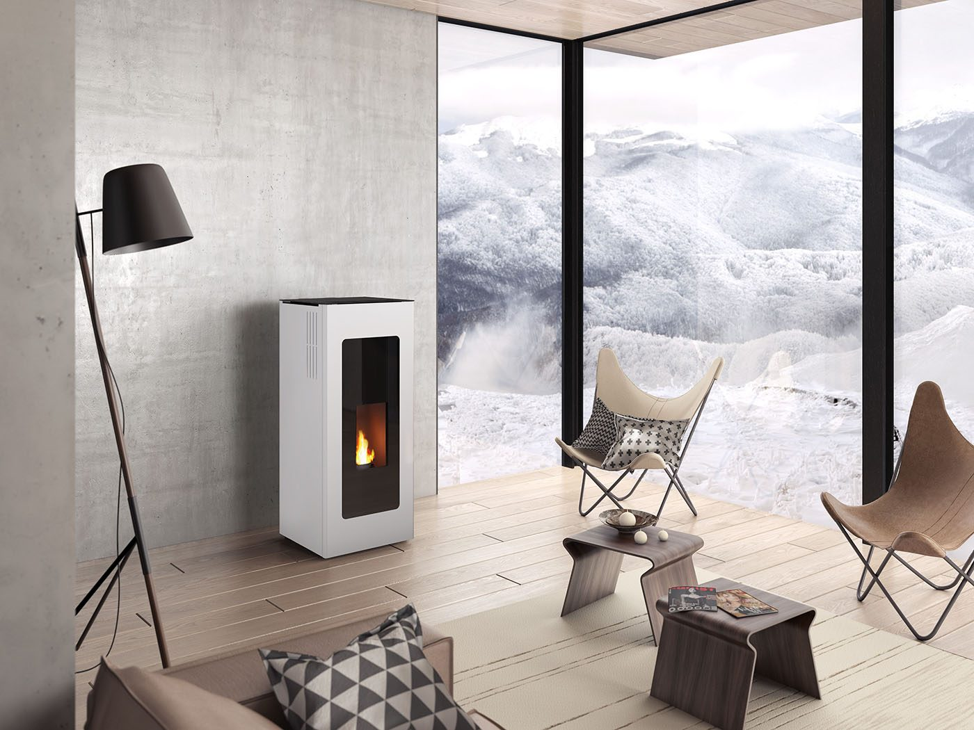 po le granul s jotul pf 730 blanc promotion jotul chamb ry. Black Bedroom Furniture Sets. Home Design Ideas