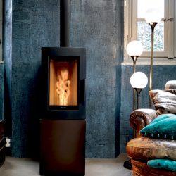 poele a granule moderne design pas cher Atre et Loisirs St Martin d'heres Chambéry Montmélian installateur
