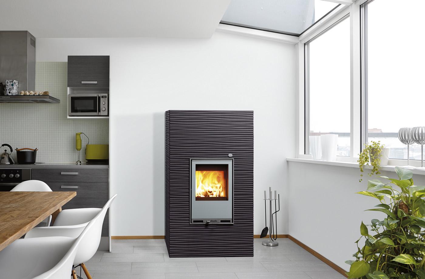 po les granul s tulikivi granul s et bois 100 sans lectricit. Black Bedroom Furniture Sets. Home Design Ideas