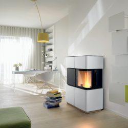 poele granule angle ultramince ceramique revelli atre et loisirs Montmélian Chambéry grenoble installateur