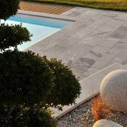 pierre à l'extérieur, quelle pierre naturelle pour la terrasse, dallage, terrasse, pierre extérieure