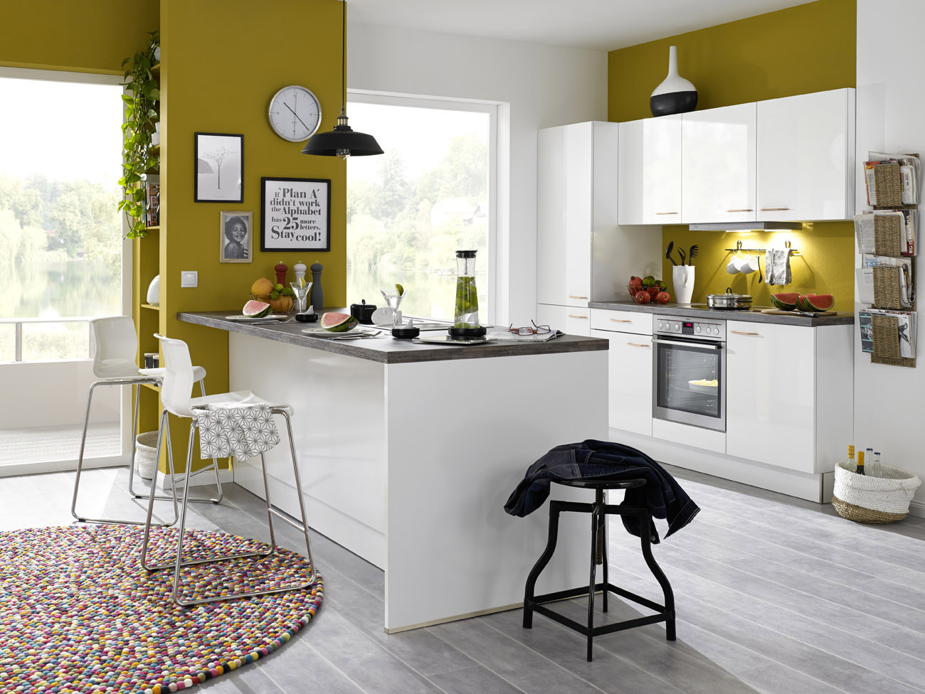 cuisine design blanche good cuisine design blanche with cuisine design blanche fabulous photo. Black Bedroom Furniture Sets. Home Design Ideas