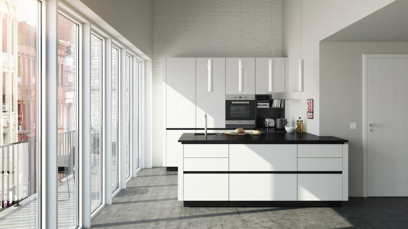 cuisines stormer la qualit et le design allemand chez. Black Bedroom Furniture Sets. Home Design Ideas