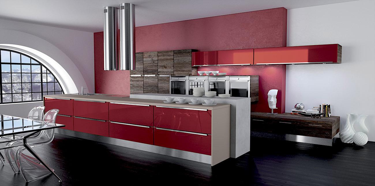 cuisine couleur bordeaux. gallery of couleurs peinture pour cuisine