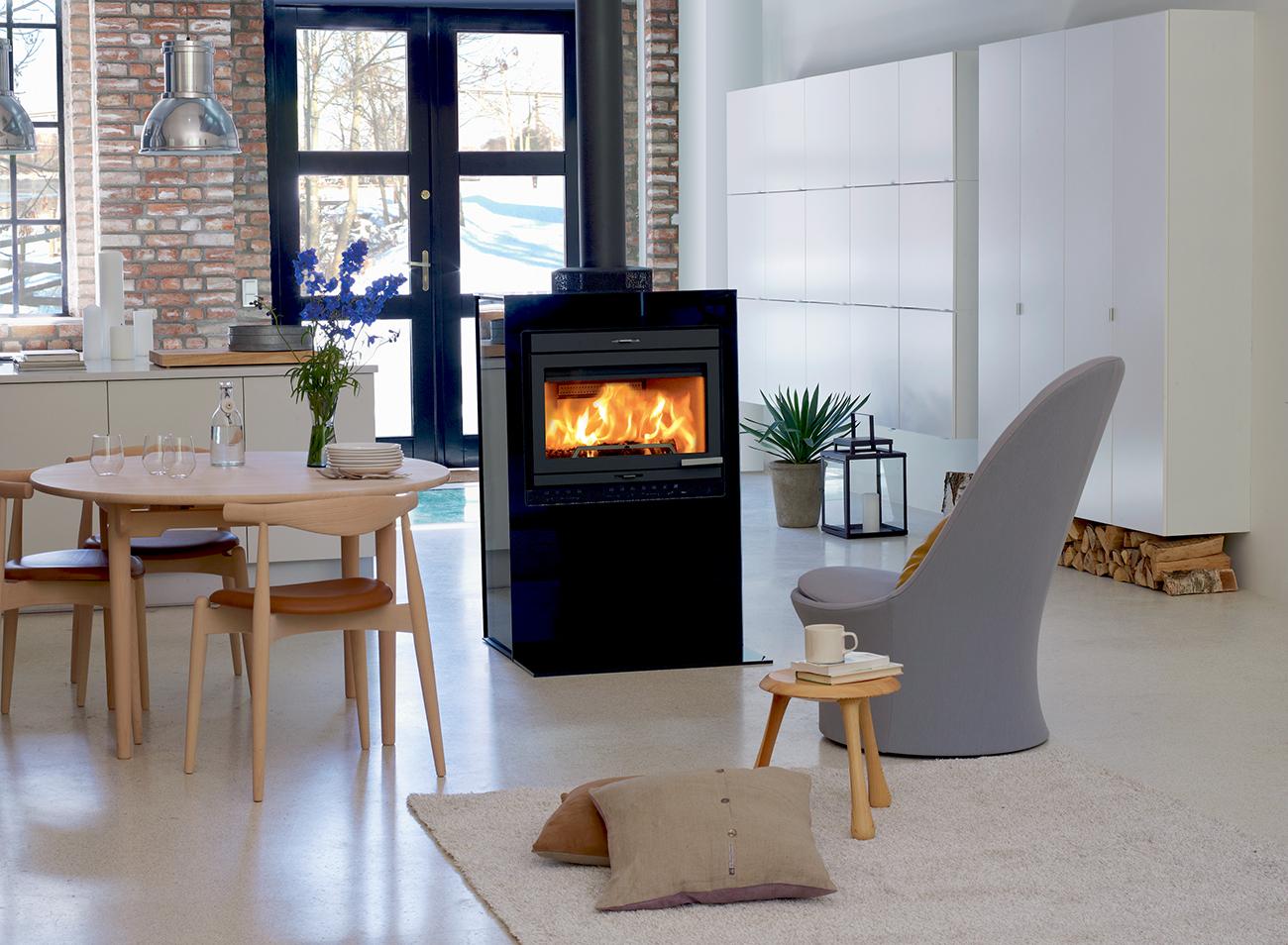 po le jotul i 400 habillage fa ade verre cot s en verre. Black Bedroom Furniture Sets. Home Design Ideas