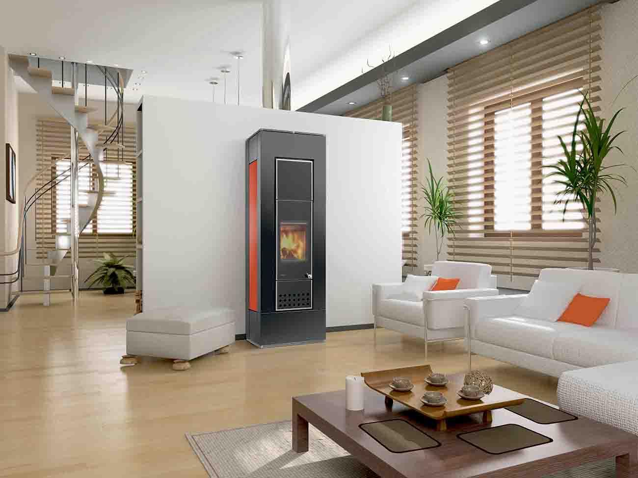 po le bois lohberger aqua insert avec bouilleur atre. Black Bedroom Furniture Sets. Home Design Ideas