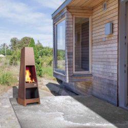 cheminée extérieure loke jotul barbecue feu exterieur atre et Loisirs Jotul Chambéry Grenoble Montmélian Albertville