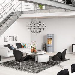 poele a bois attika Viva 120 l atre et loisirs pose installation entretien grenoble chambéry albertville annecy