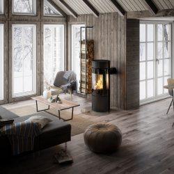 poele a bois attika viva 120 l atre et loisirs installation chambéry montmélian arbin albertville