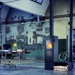 poele a bois Attika bionic fire studio Atre et loisirs installateur savoie isère