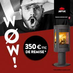 Promo Jotul Wow novembre 2017