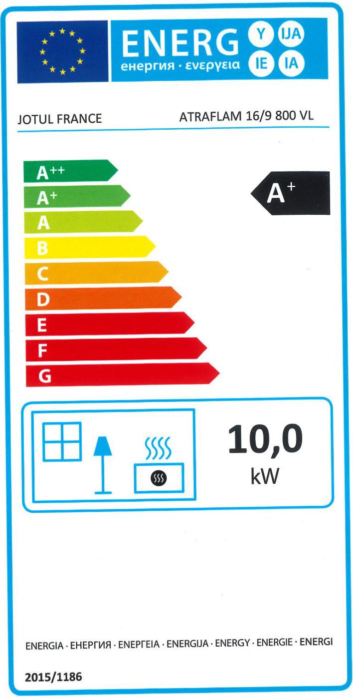 étiquette énergie poêle à bois, poêle à granulés, insert à bois, insert à granulés, cheminée