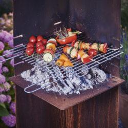barbecue angle Attika chez Atre et Loisirs cheminées barbecue en Isère 38 St Martin d'Hères, en Savoie 73 Montmélian Chambéry, Albertville, en Haute-Savoie Annecy Gaillard Annemasse