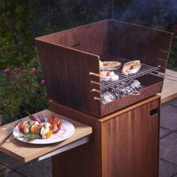 barbecue metal suquare Attika, Atre et Loisirs Montmélian, Albertville, Aix les Bains, Annecy, grenoble