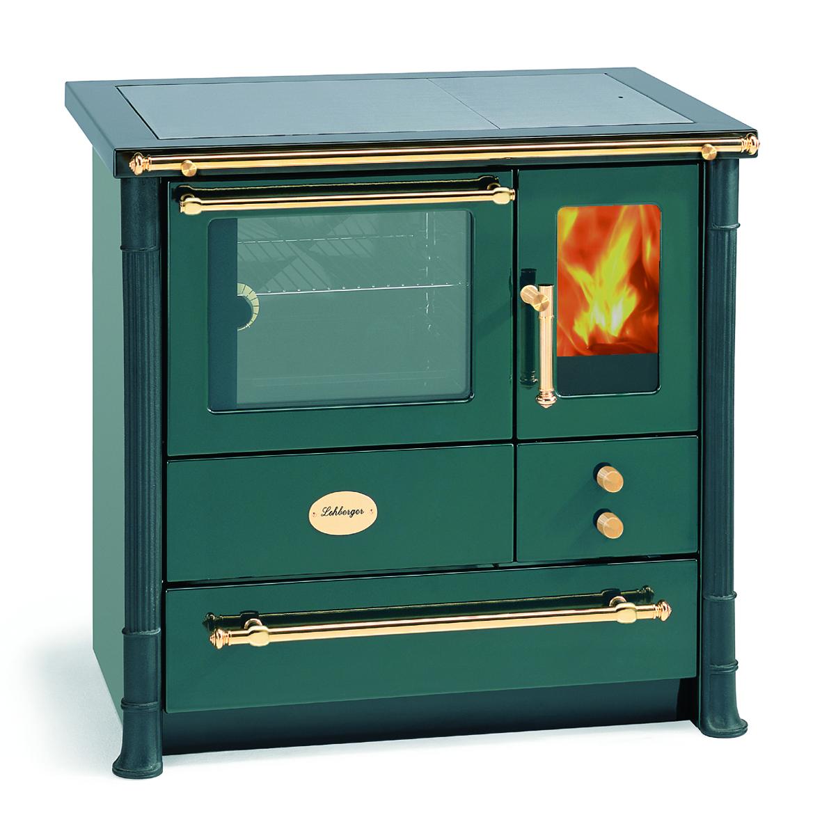 cuisinière à bois autrichienne, cuisinière à bois verte, cuisinière solde, cuisinière promo, cuisinière à bois prix